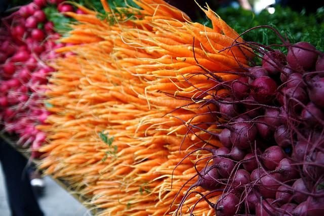 lovely farmer market veggies