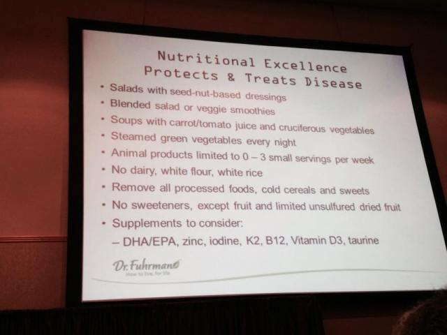 Keys to Nutritional Excellance.PDX.Fuhrman