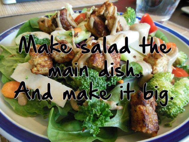 Make Salad the main dish