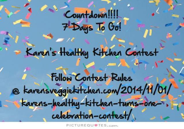 COUNTDOWN! 7 DAYS TO GO! 2014