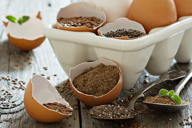 Natural Egg Replacers- Flax, etc.