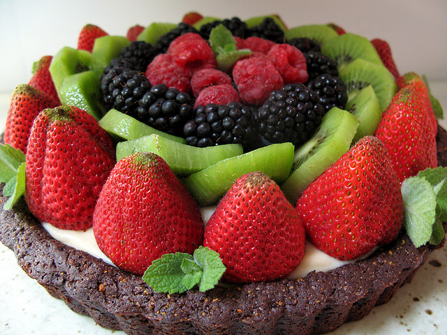 Vegan Fruit Tart-Birthday Cake idea